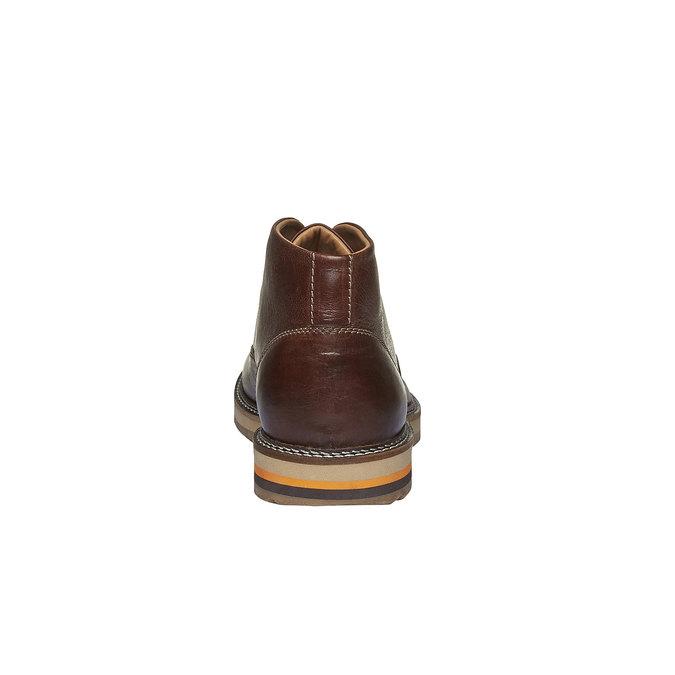 Skórzane buty do kostki typu desert bata, brązowy, 894-3114 - 17