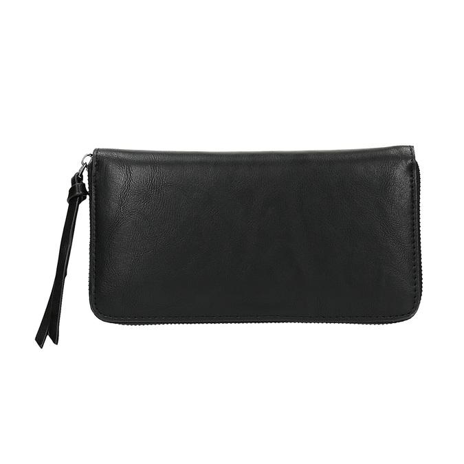 Damski portfel z nitami bata, czarny, 941-6140 - 19