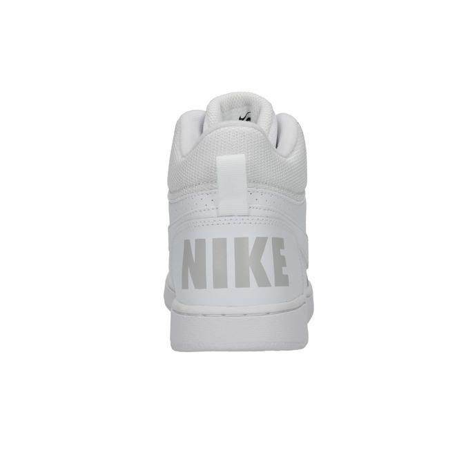 Białe trampki za kostkę nike, biały, 401-1237 - 17
