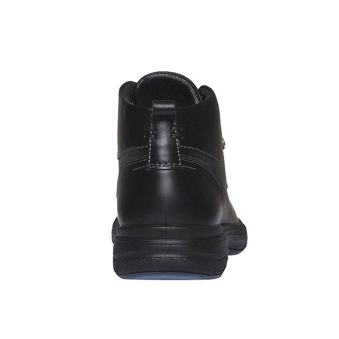 Skórzane botki bata, czarny, 894-6226 - 17