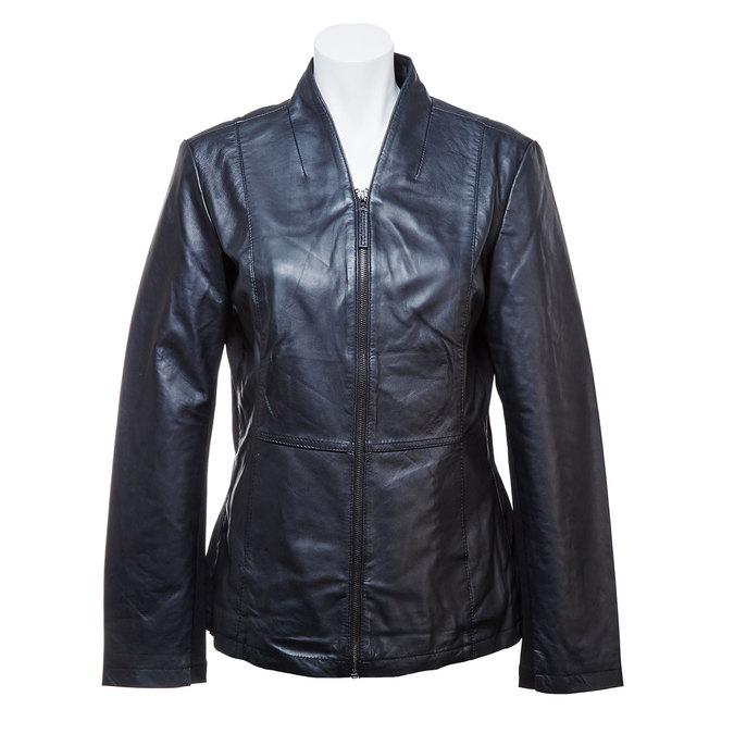 Skórzana kurtka damska bata, czarny, 974-6174 - 13