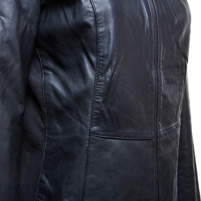 Skórzana kurtka damska bata, czarny, 974-6174 - 16