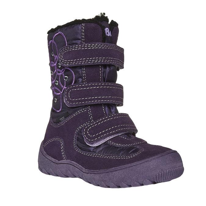 Buty dziecięce mini-b, fioletowy, 293-5100 - 13