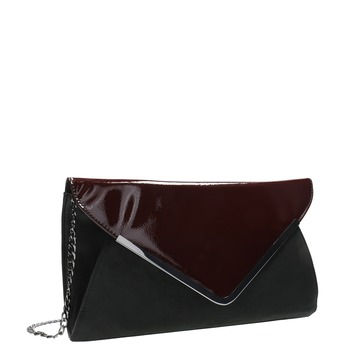Damska elegancka kopertówka bata, czerwony, 961-5221 - 13