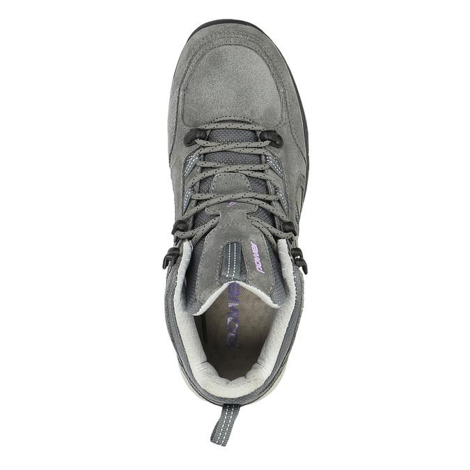 Skórzane buty do kostki w stylu Outdoor power, szary, 503-2830 - 19