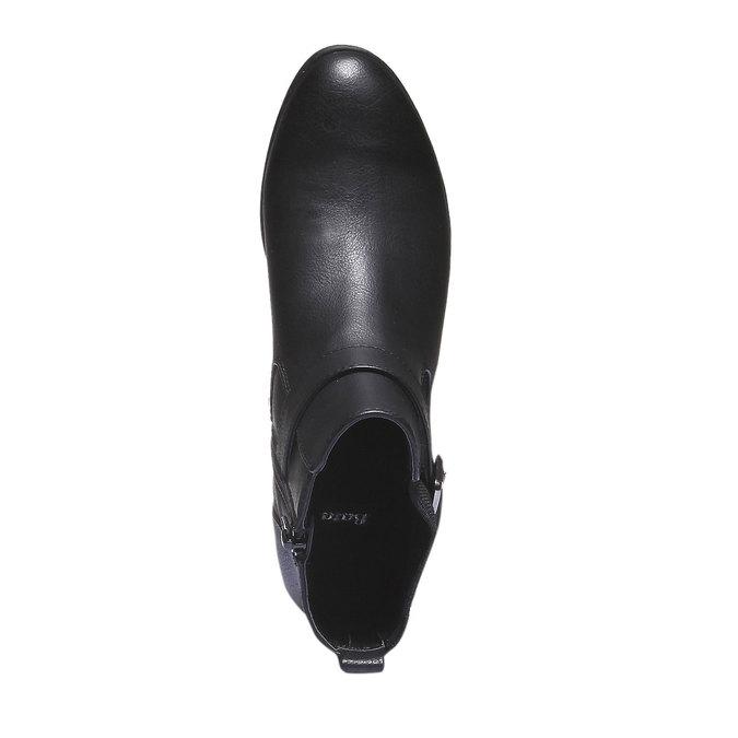 Damskie botki bata, czarny, 591-6113 - 19