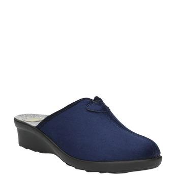 Kapcie damskie bata, niebieski, 579-9602 - 13