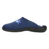 Kapcie damskie zhaftem bata, niebieski, 579-9603 - 26