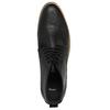 Czarne buty męskie za kostkę bata, czarny, 891-6600 - 19