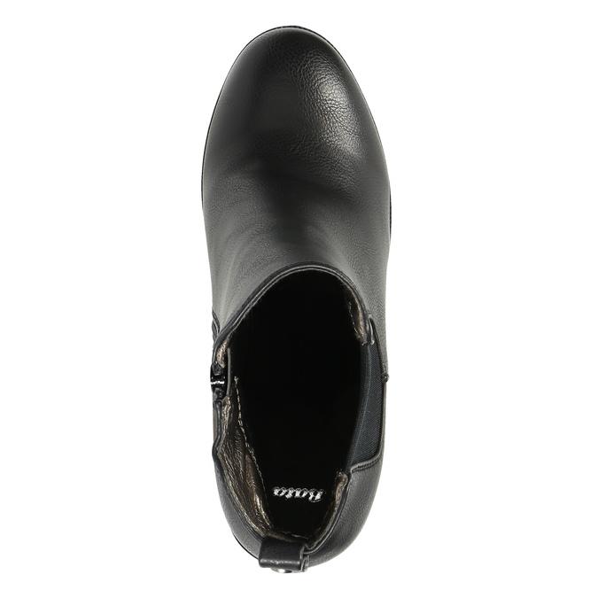 Botki na masywnym obcasie bata, czarny, 791-6600 - 19