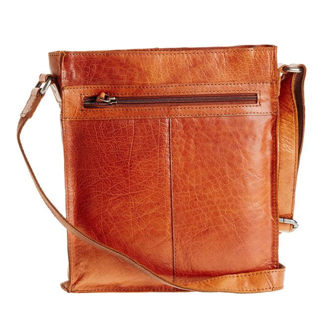 Męska skórzana torba Crossbody bata, brązowy, 964-3141 - 26