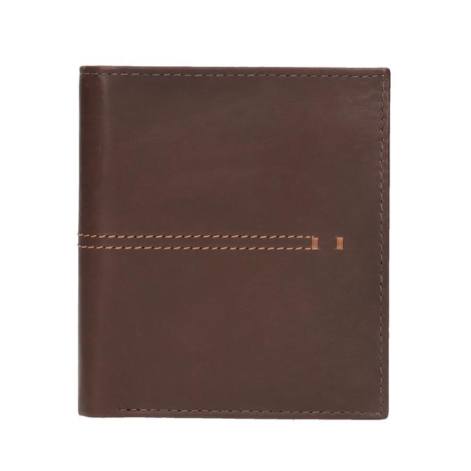 Portfel męski zprzeszyciami bata, brązowy, 944-3176 - 26