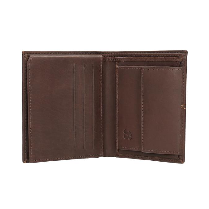 Portfel męski zprzeszyciami bata, brązowy, 944-3176 - 15