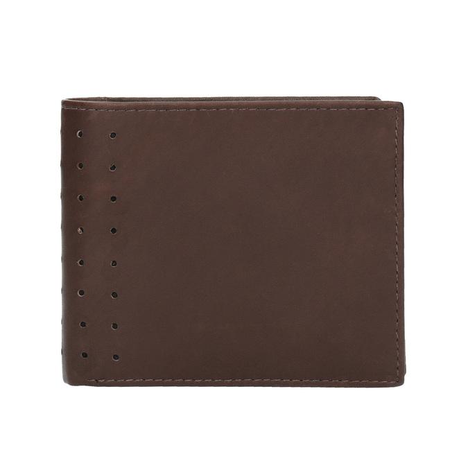 Skórzany portfel męski bata, brązowy, 944-4175 - 26