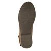 Damskie kozaki do kostki bata, brązowy, 591-4610 - 26
