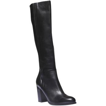 Botki damskie bata, czarny, 794-6603 - 13