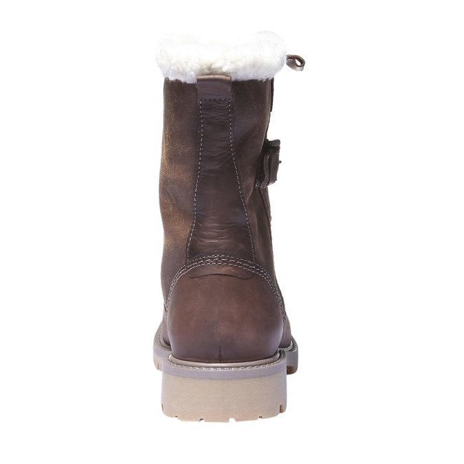 Skórzane buty z antypoślizgową podeszwą weinbrenner, brązowy, 594-4455 - 17