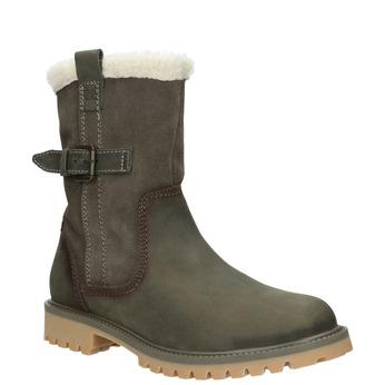 Skórzane buty z antypoślizgową podeszwą weinbrenner, szary, 594-2455 - 13