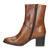 Botki damskie ze skóry bata, brązowy, 694-3359 - 19