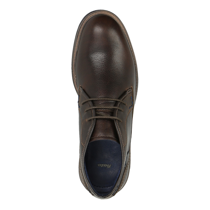 Skórzane buty w stylu Chukka Boots bata, brązowy, 824-4701 - 19