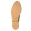 Ocieplane botki ze skóry bata, brązowy, 596-3610 - 26