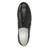 Slip-on męskie ze skóry bata, czarny, 844-6630 - 19