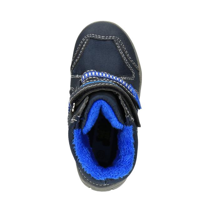 Dziecięce buty zimowe bubblegummer, niebieski, 199-9601 - 19