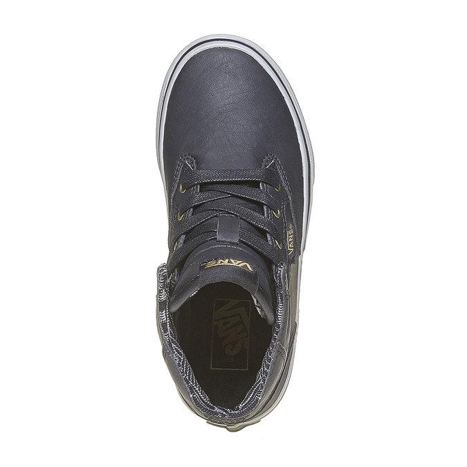 Dziecięce buty sportowe do kostki vans, szary, 401-6310 - 19