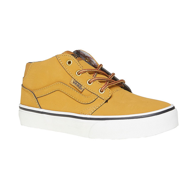 Dziecięce buty sportowe marki Vans vans, żółty, 401-8235 - 13