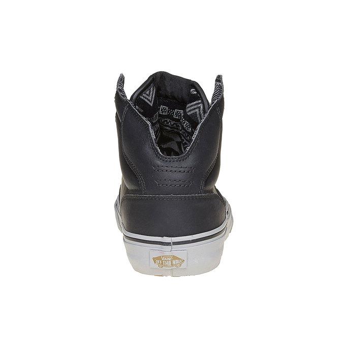 Męskie buty sportowe do kostki marki Vans vans, czarny, 809-6310 - 17