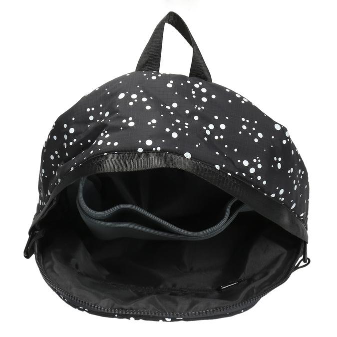 Plecak ze wzorem w kropki bjorn-borg, czarny, 969-6030 - 15