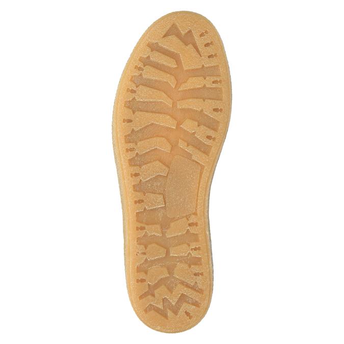 Skórzane buty zimowe z futerkiem weinbrenner, żółty, 596-8628 - 26