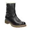 Damskie buty z futerkiem bata, czarny, 594-6609 - 13