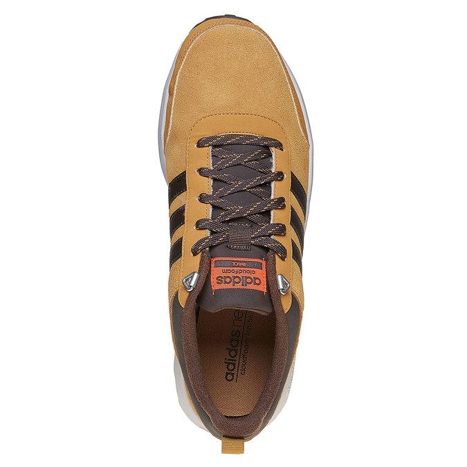 Męskie skórzane buty sportowe adidas, brązowy, 803-3893 - 19