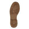 Zimowe skórzane buty damskie manas, brązowy, 596-4602 - 26
