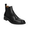Męskie skórzane buty Chelsea Boots vagabond, czarny, 894-6002 - 13