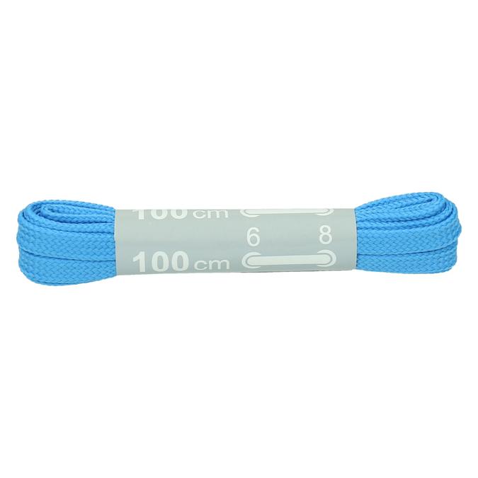 Kolorowe sznurówki bata, niebieski, 999-9466 - 13