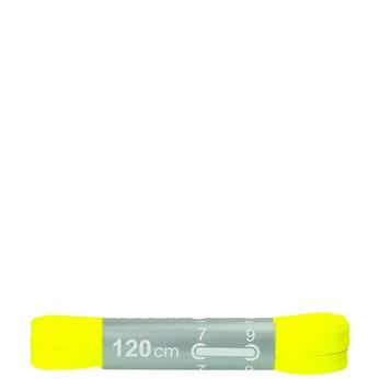 Kolorowe sznurówki bata, żółty, 999-8266 - 13