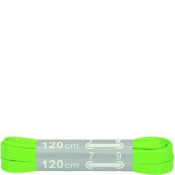 Kolorowe sznurówki bata, zielony, 999-7266 - 13