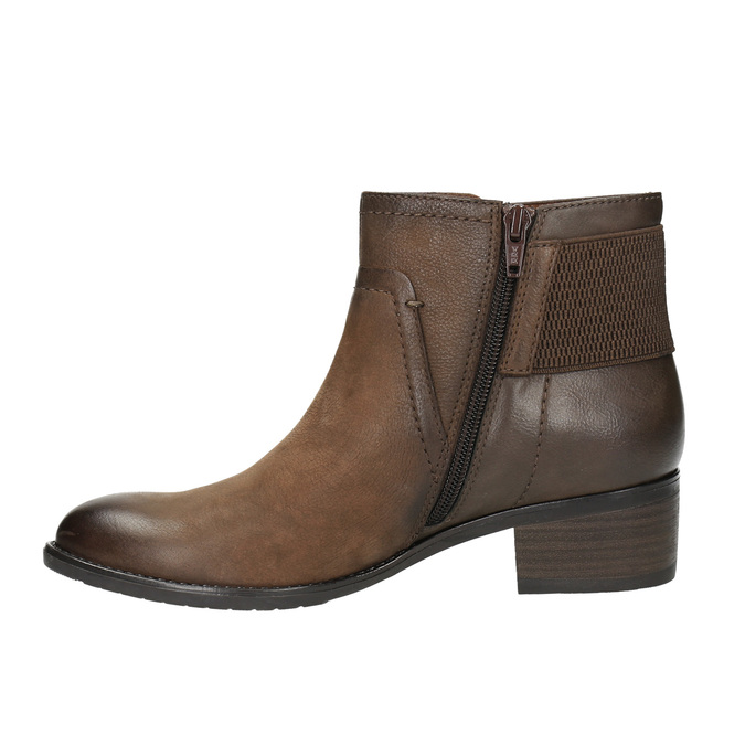 Botki damskie bata, brązowy, 696-4605 - 26