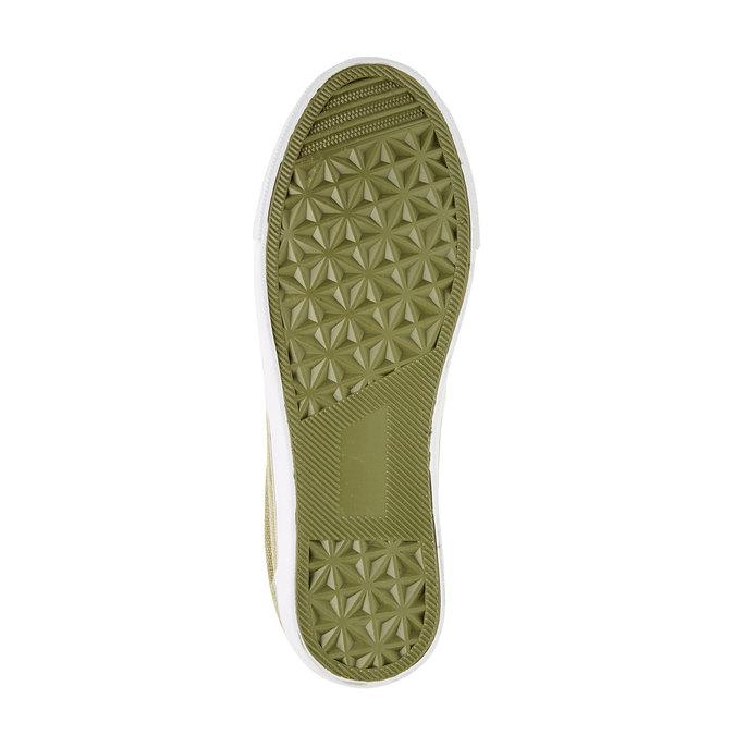 Dziecięce buty typu Slip-On mini-b, zielony, 319-7215 - 26