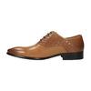Brązowe oksfordy ze skóry bata, brązowy, 824-3643 - 26