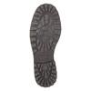 Skórzane półbuty z przeszyciami na nosku bata, brązowy, 826-6640 - 26
