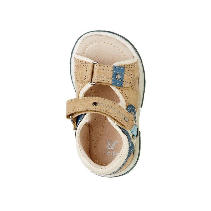 Sandały dziecięce mini-b, brązowy, 161-3100 - 19