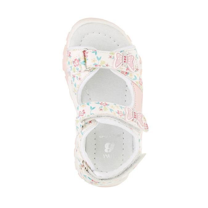 Sandały dziecięce mini-b, biały, 261-1165 - 19