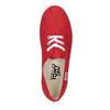 Czerwone trampki damskie tomy-takkies, czerwony, 519-5691 - 19
