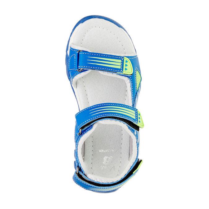 Sandały dziecięce mini-b, niebieski, 261-9168 - 19