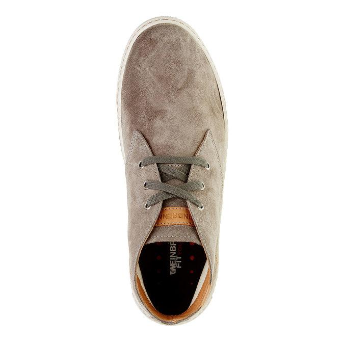 Męskie skórzane buty weinbrenner, brązowy, 843-2661 - 19
