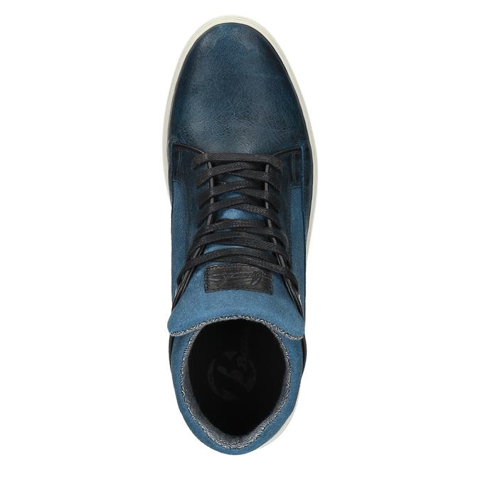 Trampki męskie bata, niebieski, 844-9624 - 19