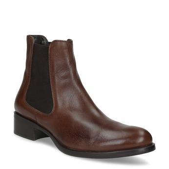 Skórzane buty Chelsea bata, brązowy, 594-4448 - 13